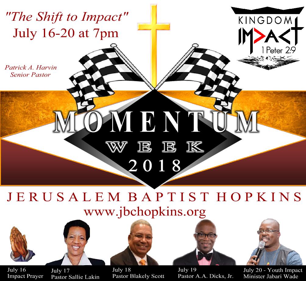 Momentum Week Revival 2018