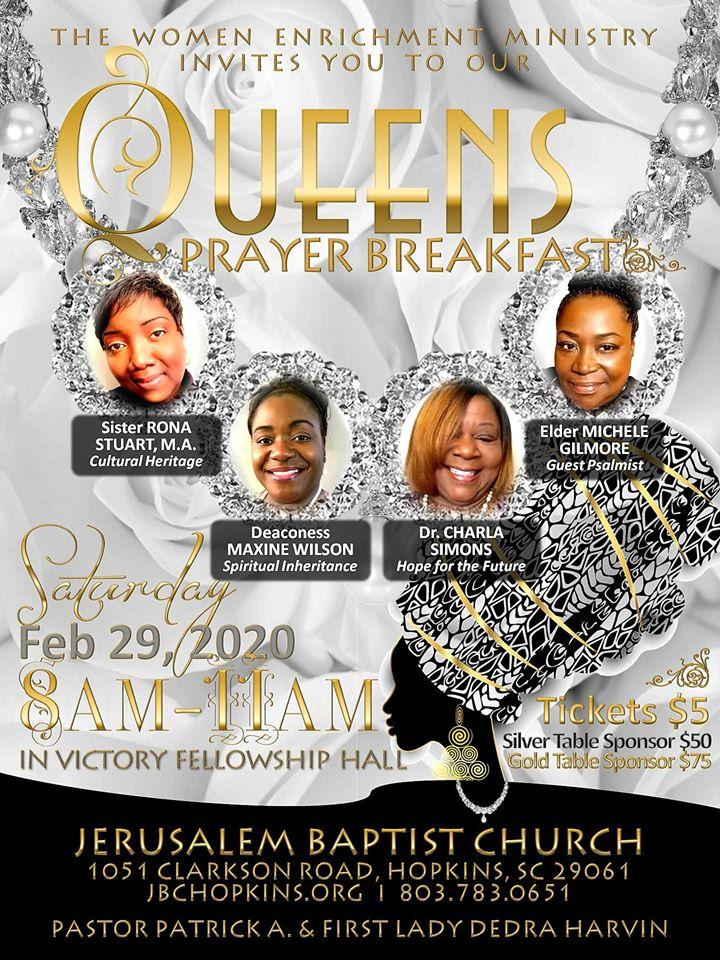 Queens Prayer Breakfast